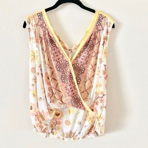 NWT Free People Wrap Top S